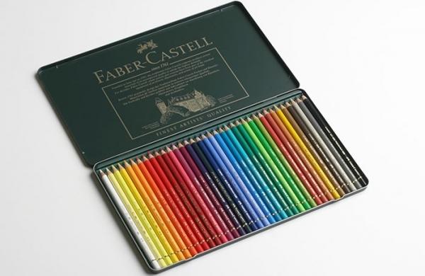faber castell polychromos 36er set im metalletui polychromos farben stifte pinsel. Black Bedroom Furniture Sets. Home Design Ideas